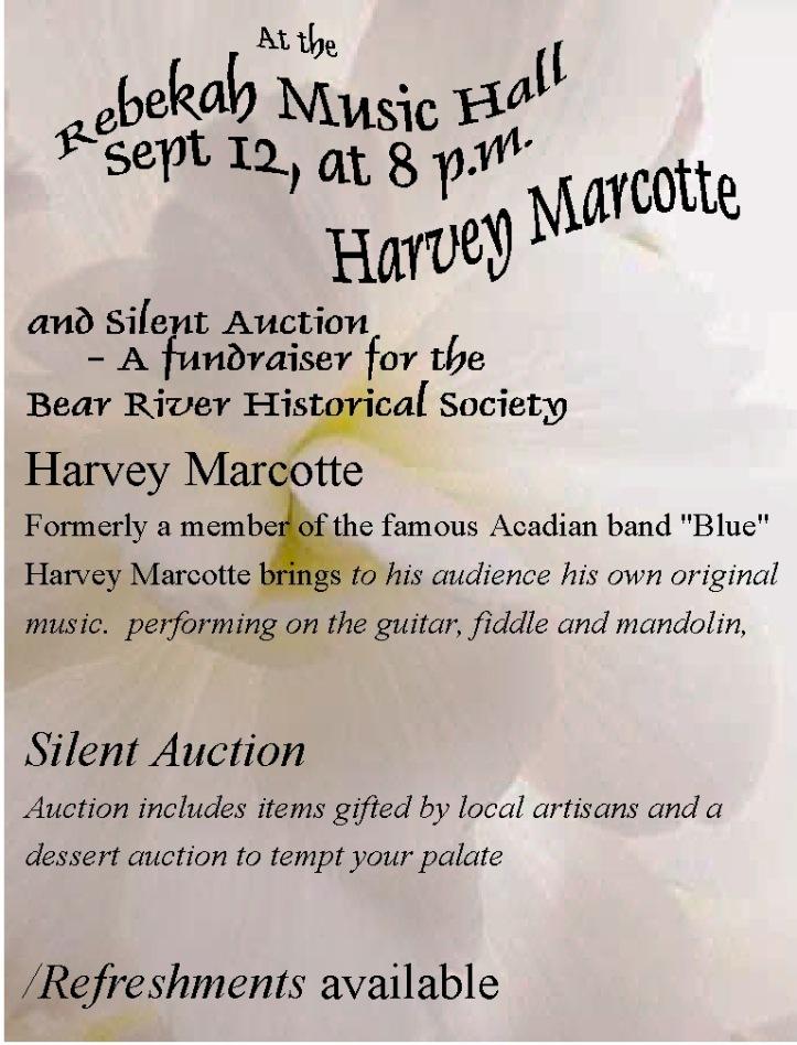 Harvey Marcotte poster