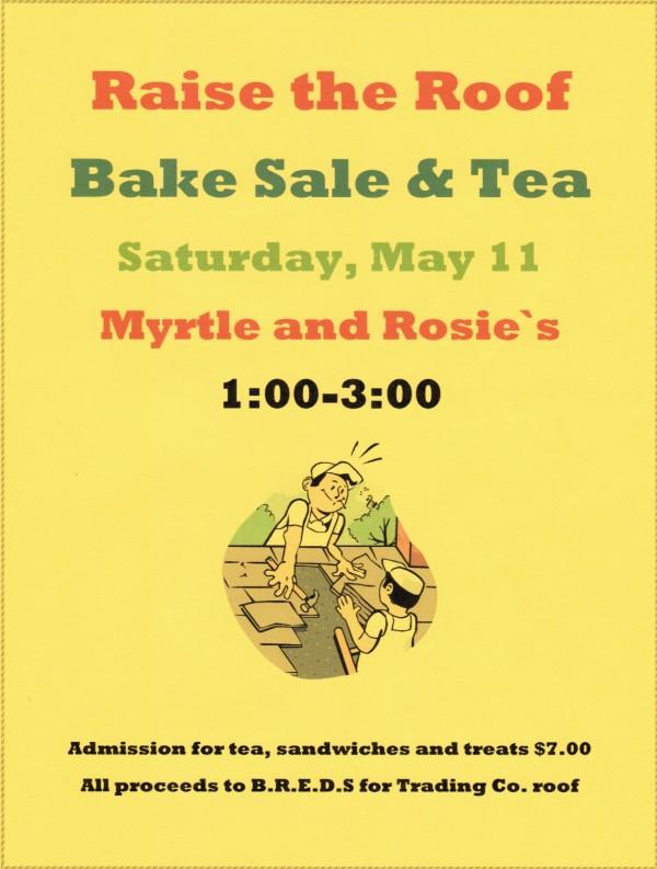 Bake Sale and Tea