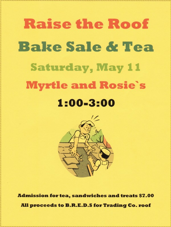 Bake Sale and Tea