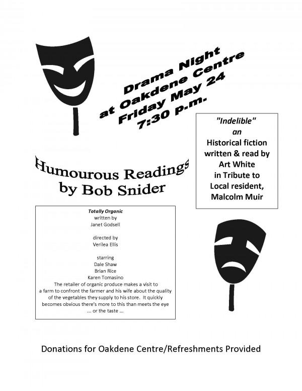 Drama Night at the Oakdene