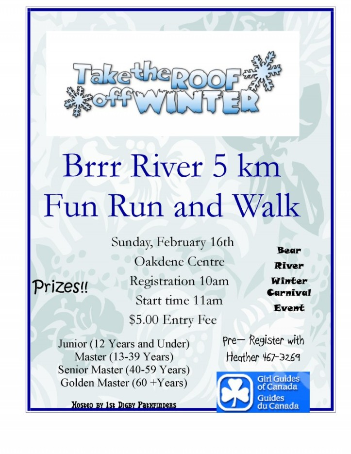 Brrr River Fun Run