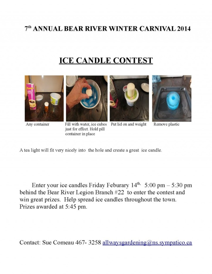 Ice candle contest 2014
