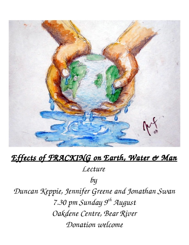 Fracking poster