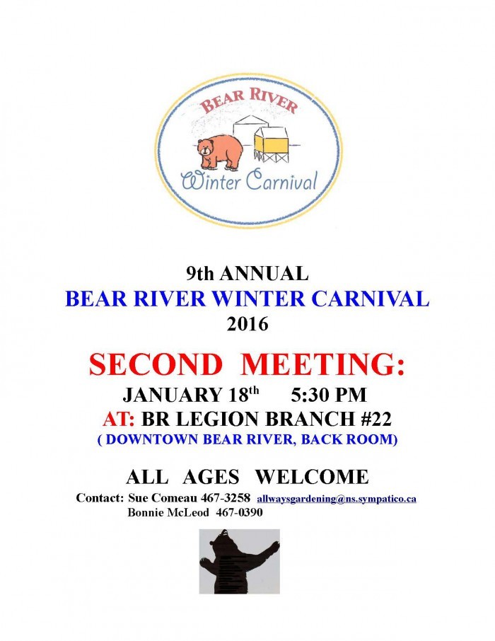 Winter Carnival  Poster 2nd meeting 2016