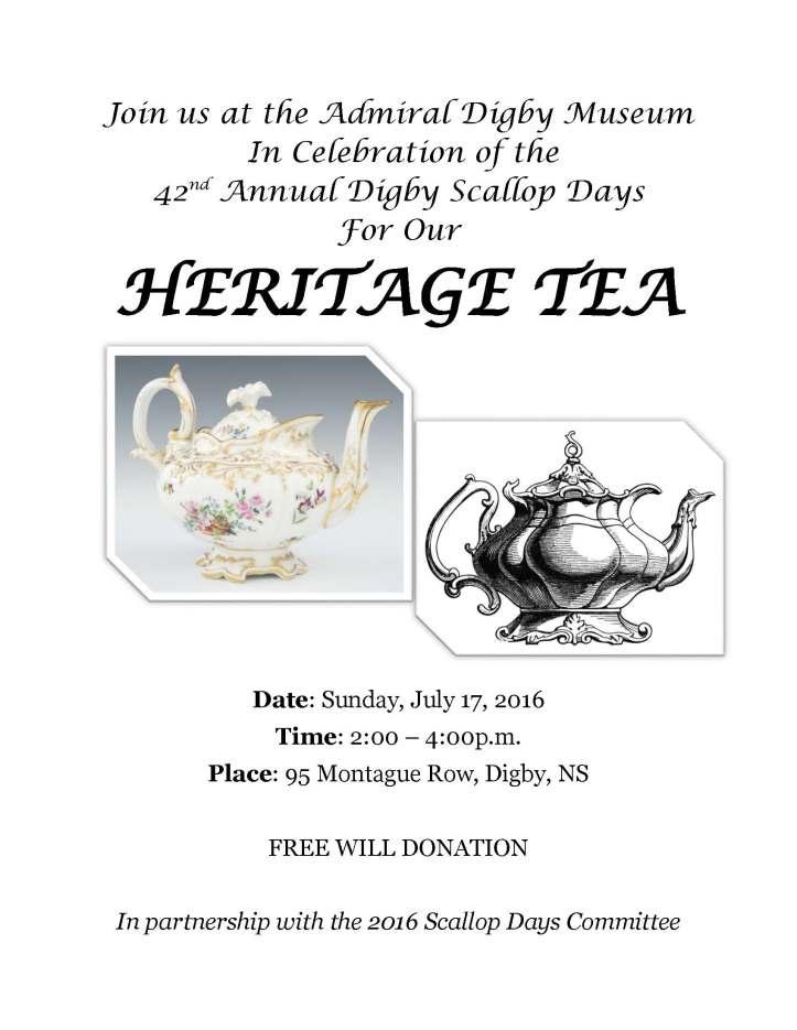 Heritage tea poster