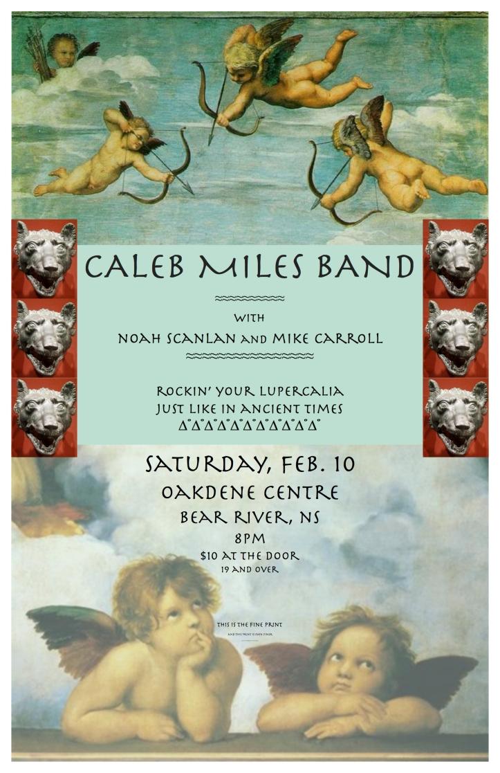 Caleb's poster