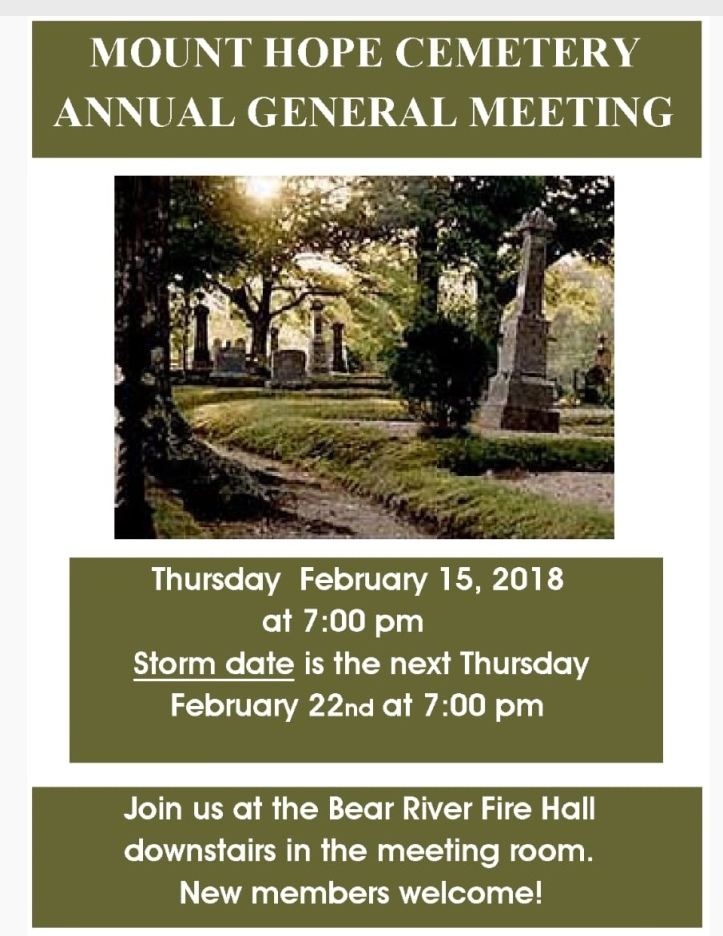 mount Hope AGM
