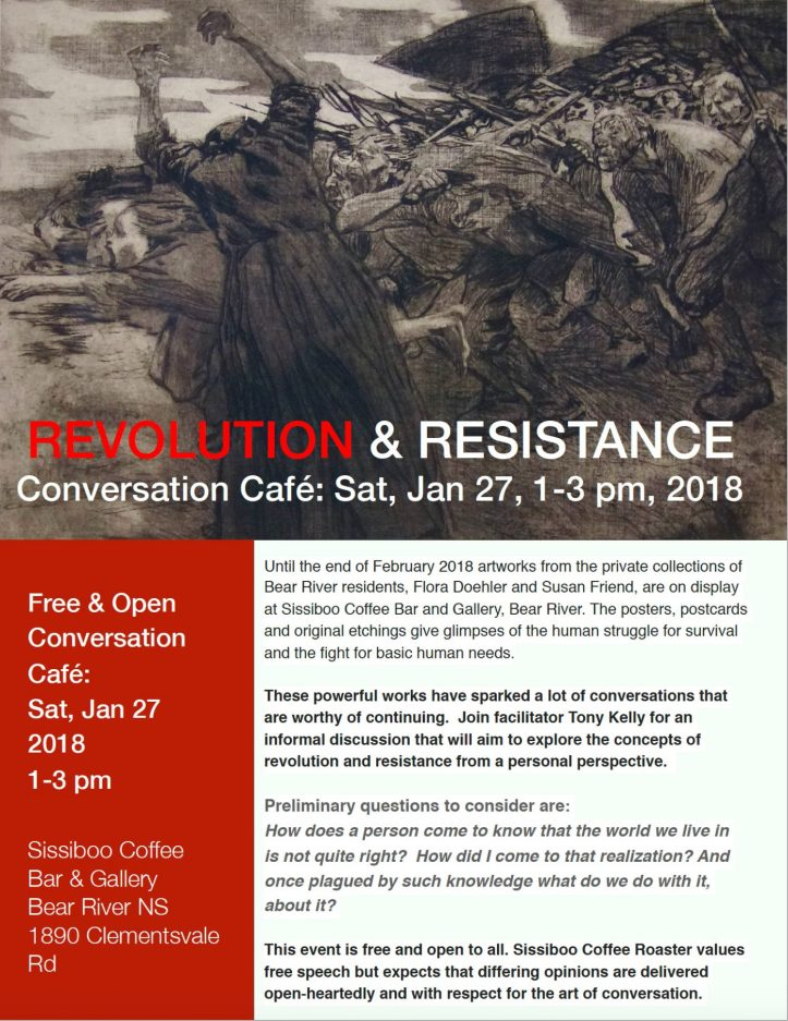 revolution conversation café.colour