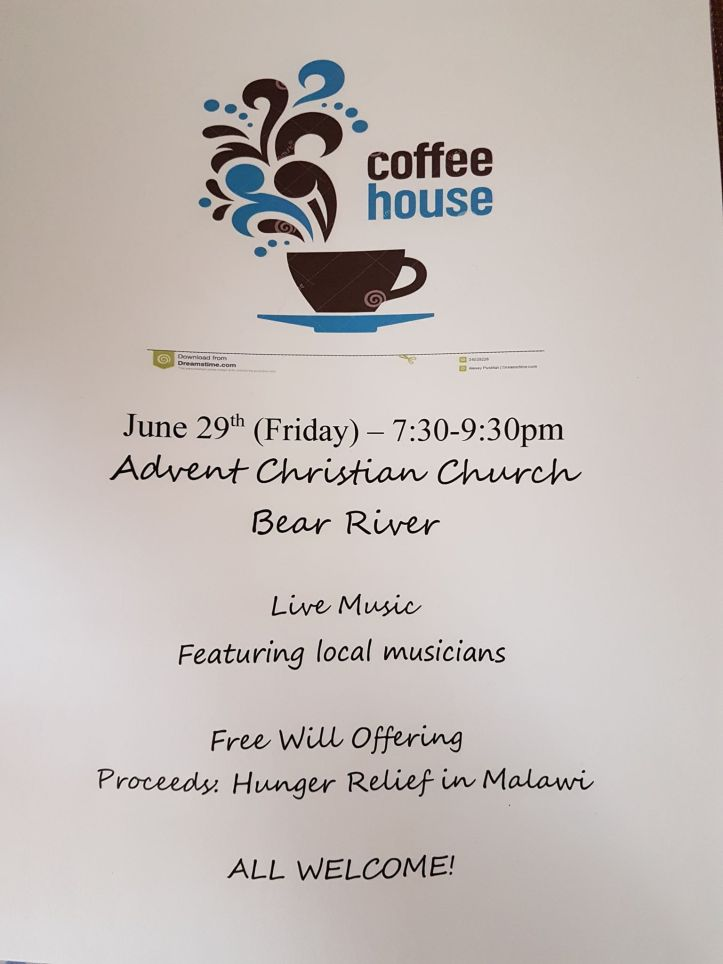coffee house June 29