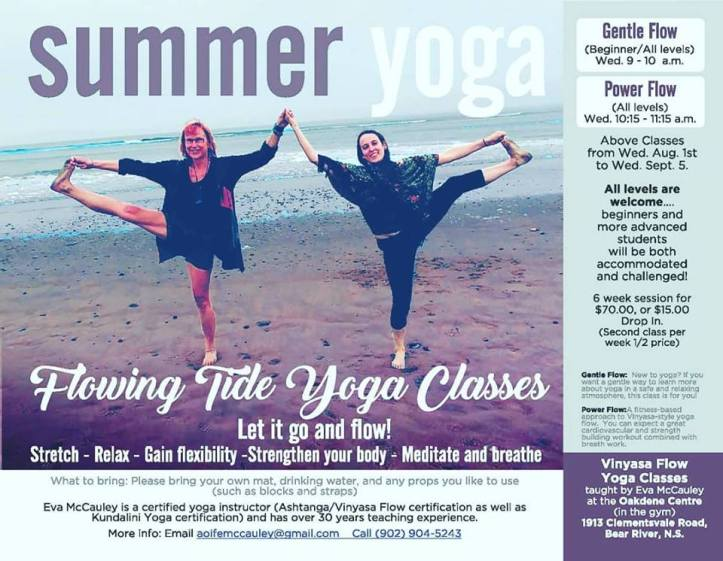 yoga poster for facebook