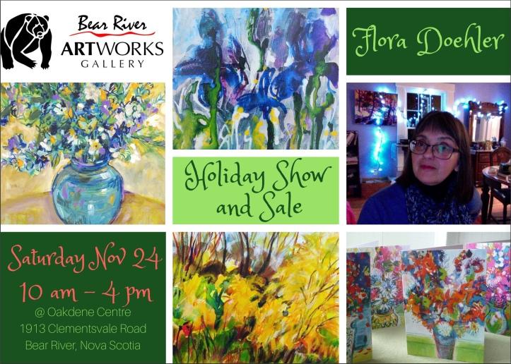 Flora-Holiday Show Artworks 2018