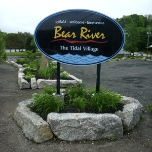 Bear River sign