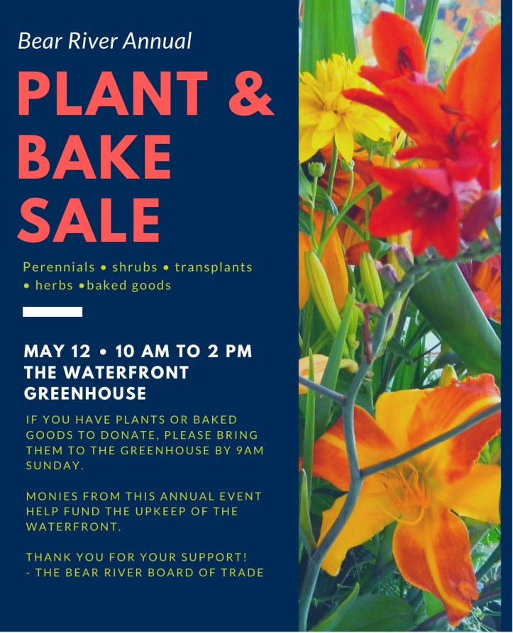 plant and bake sale.2019
