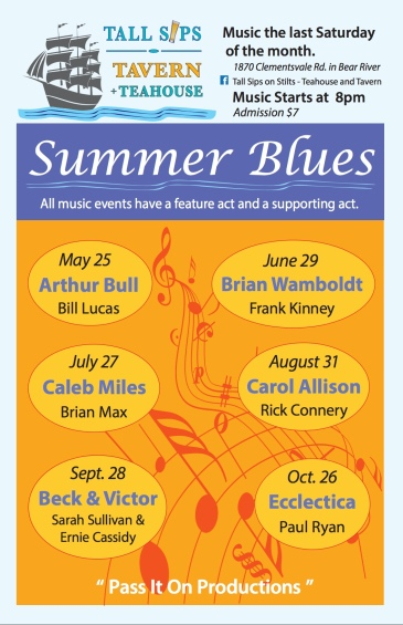 Summer Blues poster 2019